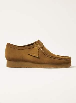 Topman CLARKS ORIGINALS Brown Suede Shoes