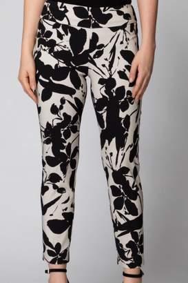 Joseph Ribkoff Black/khaki Pants