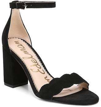 Sam Edelman Women's Odila Suede Block Heel Sandals