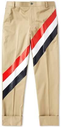Thom Browne Diagonal Stripe Chino Pant
