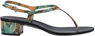 Menghi CARLA SAINT-BARTH by Toe strap sandals