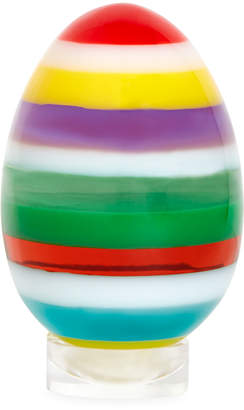 Jonathan Adler Medium Stacked Acrylic Egg