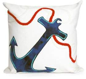 Visions II Anchor Indoor and Outdoor Pillow