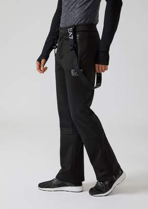 Emporio Armani Ea7 Maxland Ski Trousers With Braces