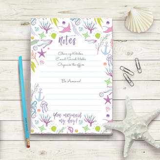 DAY Birger et Mikkelsen Stephanie B Designs Mermaid My Notepad To Do List And Pencil Set