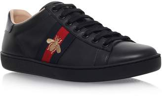 Gucci Leather Ace Bee Sneakers