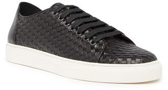 Donald J Pliner Woven Leather Sneaker