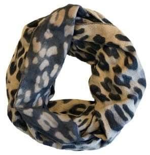 Fraas Leopard Printed Oversized Loop Scarf