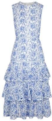 Keepsake Wild Things Guipure Lace Midi Dress