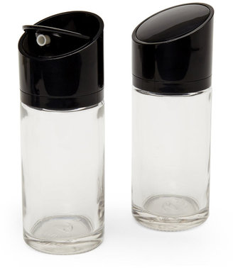 artland Set of 2 Black Swivel-Top Cruets $8 thestylecure.com