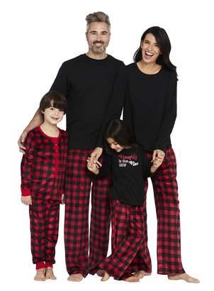 Karen Neuburger Women's Family Matching Christmas Holiday Pajama Sets PJ, Buffalo Plaid red Cherry/Black Onesie