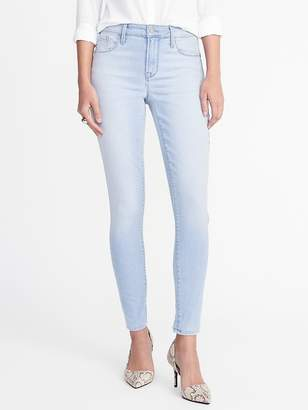 Old Navy High-Rise Light-Wash Rockstar Super Skinny Jeans for Women