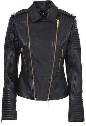 Elisabetta Franchi Celyn B. Leather jacket