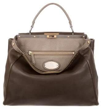 Fendi Leather Peekaboo Bag