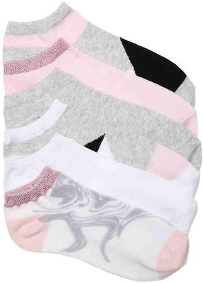 Mix No. 6 Marble No Show Socks - 6 Pack - Women's