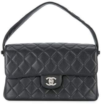 Chanel Pre-Owned side flaps shoulder bag
