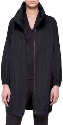 Akris Kansas Silk Blend Coat