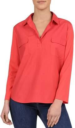 Gerard Darel Venda Flap-Pocket Poplin Shirt