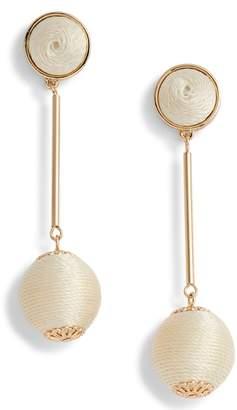 Halogen Mod Ball Drop Earrings