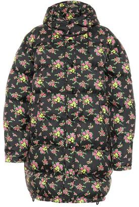 1082cb50c Puffer Jacket Floral - ShopStyle