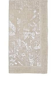 Kim Seybert Distressed Linen Napkin - Silver