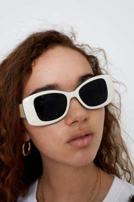33fecf867d2 at Urban Outfitters · Hindsight Vintage Square Sunglasses