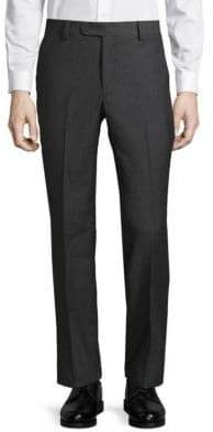 Saks Fifth Avenue Wool Mini Houndstooth Dress Pants