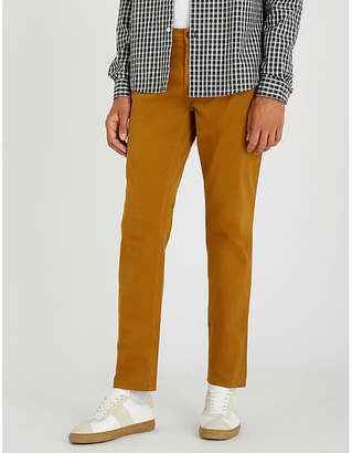 BOSS Slim-fit stretch-cotton chinos