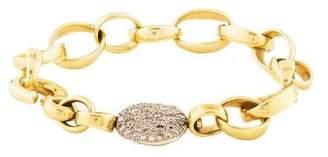 Pomellato 18K Diamond Sabbia Link Bracelet