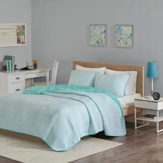 Home Essence Apartment Keya Cotton Blend Jersey Knit Quilt Set