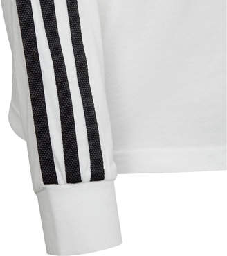 46f15305b51 adidas Kids  3-Stripe Long Sleeve T-Shirt