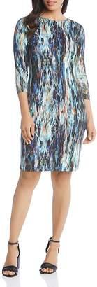 Karen Kane Printed Sheath Dress