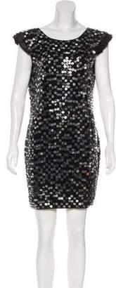 Robert Rodriguez Sequined Mini Dress