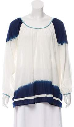 Christophe Sauvat Ombre Long Sleeve Blouse