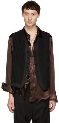 Ann Demeulemeester Black Heracling Waistcoat
