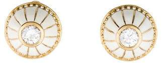 Rachel Zoe Dome Stud Earrings