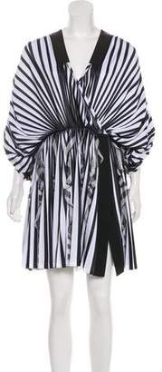 Givenchy Striped Mini Dress