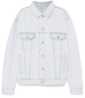 Balenciaga - Like A Man Oversized Denim Jacket - Light blue