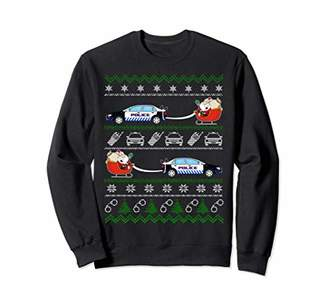 Christmas Sweater Long Shirt Police Gift Decorations
