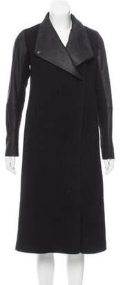 Theory Wool-Blend Short Coat