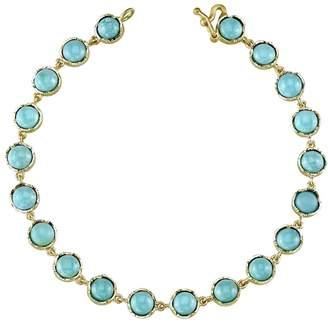 Irene Neuwirth Cabochon Turquoise Bracelet