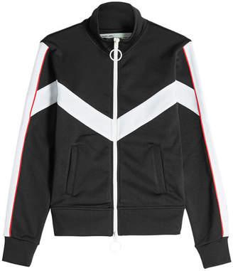 Off-White Zipped Track Jacket