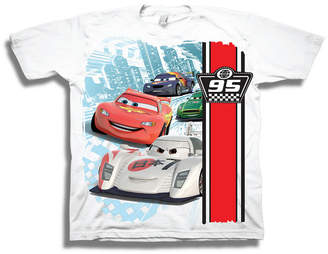 c908a06f9 Disney Toddler Boys Graphic Tees Boys Crew Neck Short Sleeve Cars Graphic T- Shirt-