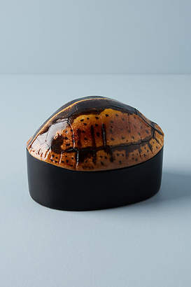 Anthropologie Turtle Canister
