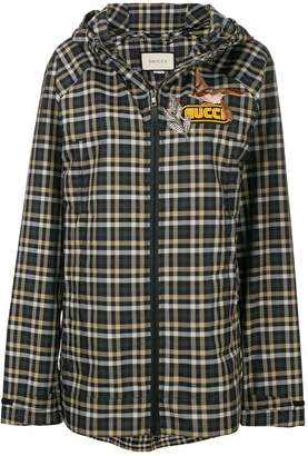 Gucci embellished check jacket