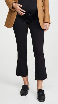 Paige Colette Maternity Crop Flare Jeans