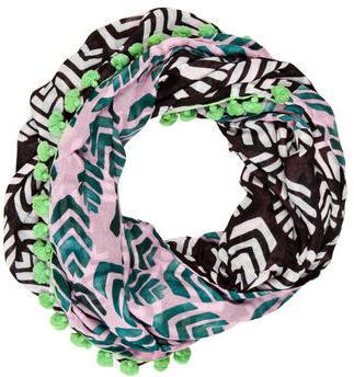 Diane von Furstenberg Infinity Reversible Scarf $70 thestylecure.com