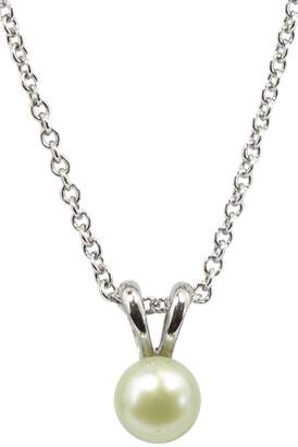 Honora Light Green Freshwater Pearl Necklace