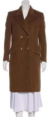 Gianni Versace Double-Breasted Knee-Length Coat