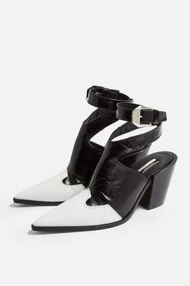 Topshop Womens Huxley High Ankle Boots